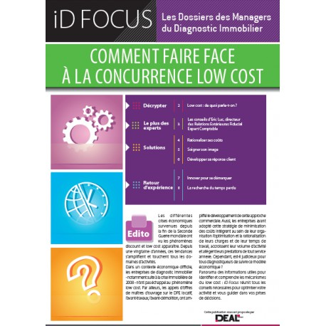 Comment faire face à la concurrence low cost